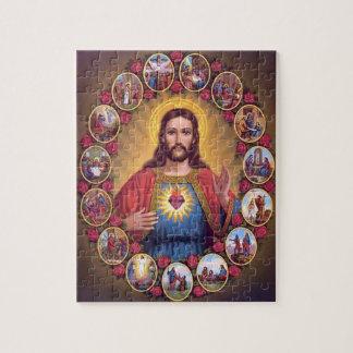 イエス・キリストの神聖なハート ジグソーパズル