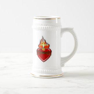 イエス・キリストの神聖なハート ビールジョッキ