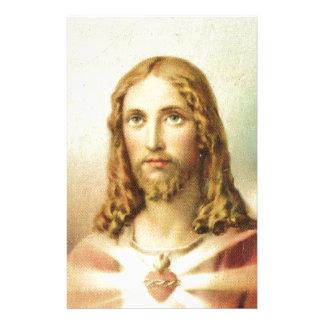 イエス・キリストの神聖なハート 便箋