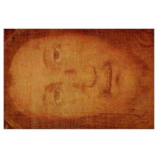イエス・キリストの神聖な顔の囲い板のManoppelloの麻布 ファブリック