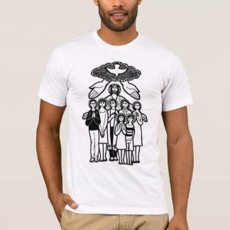 イエス・キリストの私達の救助者 Tシャツ