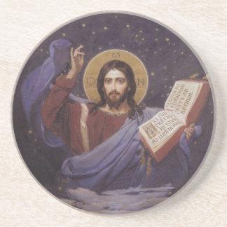 イエス・キリストの聖書の飲むコースター コースター