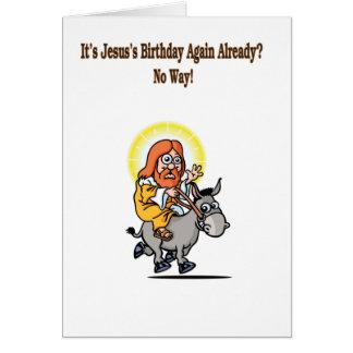 イエス・キリストの誕生日 カード