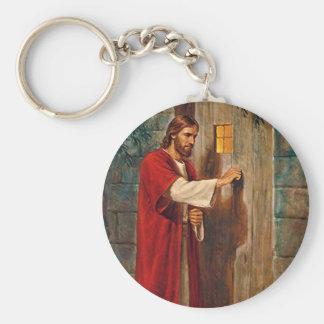イエス・キリストはドアでたたきます キーホルダー
