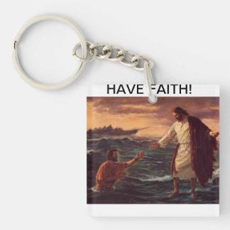 イエス・キリストはピーターを救います キーホルダー