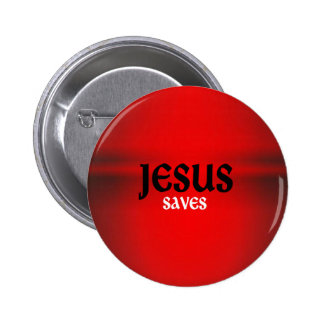 イエス・キリストはボタンを救います 5.7CM 丸型バッジ