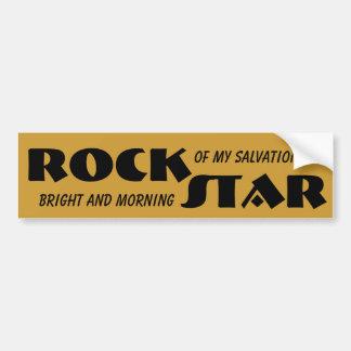 イエス・キリストはロックスターです バンパーステッカー