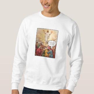 イエス・キリストは上昇します スウェットシャツ