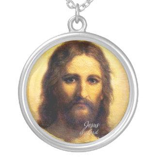 イエス・キリストは主ですA1 Necklace シルバープレートネックレス