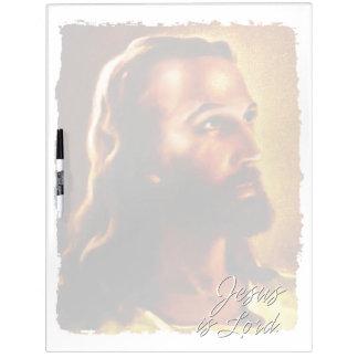 イエス・キリストは主ホワイトボードです ホワイトボード