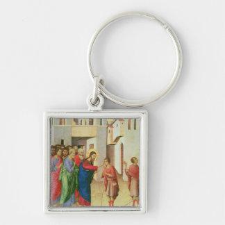 イエス・キリストは人の生まれるブラインド1311年の目を開けます キーホルダー