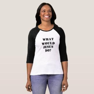 イエス・キリストは何をしますか。 Tシャツ