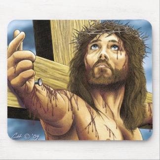 イエス・キリストは制しました マウスパッド