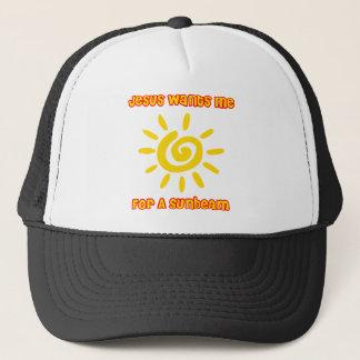 イエス・キリストは太陽光線のための私がほしいと思います キャップ