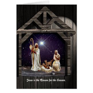 イエス・キリストは季節の理由です カード