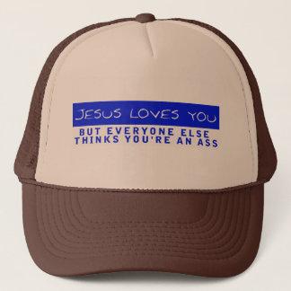 イエス・キリストは愛します キャップ