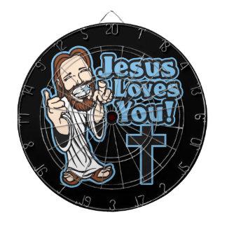 イエス・キリストは愛します ダーツボード