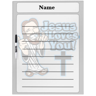 イエス・キリストは愛します ホワイトボード