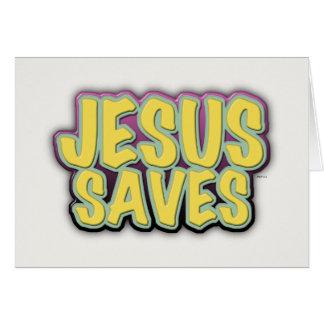 イエス・キリストは救います カード