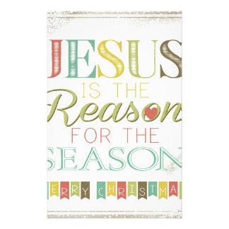 イエス・キリストは理由です 便箋
