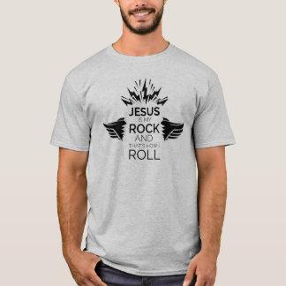 イエス・キリストは私のロックンロール-色です! Tシャツ