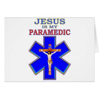 イエス・キリストは私の救急医療隊員です カード