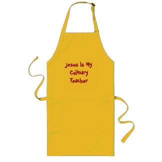 イエス・キリストは私の料理用の先生です ロングエプロン