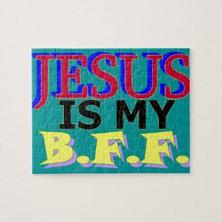 イエス・キリストは私のBFFのパズルです ジグソーパズル