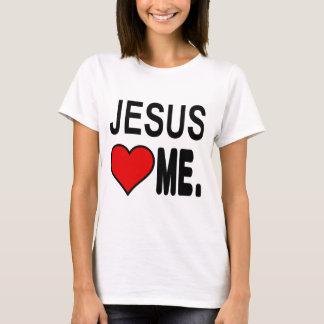 イエス・キリストは私をイエス・キリストのギフト愛します Tシャツ