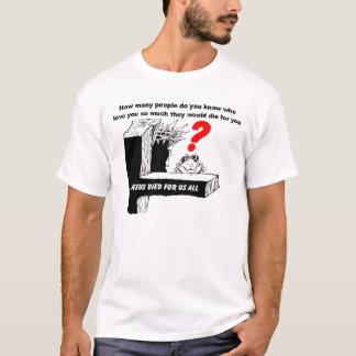 イエス・キリストは米国すべてのために死にました Tシャツ