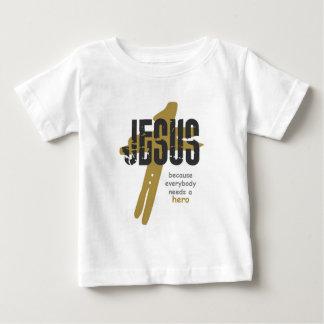 イエス・キリストは英雄です ベビーTシャツ