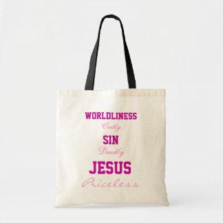 イエス・キリストは貴重なバッグです トートバッグ