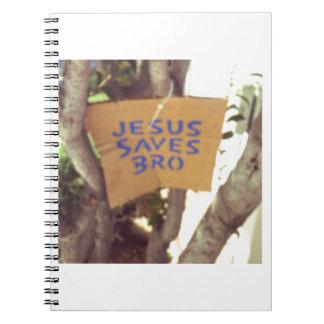 イエス・キリストはbroを救います ノートブック