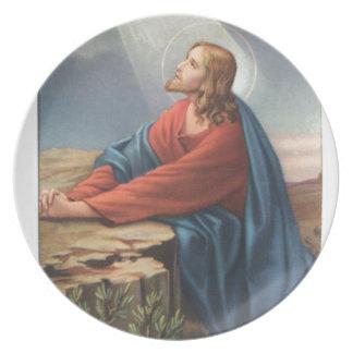 イエス・キリストを描写する記念カード プレート