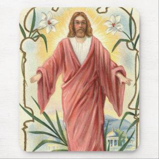 イエス・キリストキリスト教のキリスト教ユリ マウスパッド