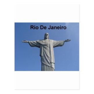 イエス・キリストリオデジャネイロ(ブラジル) (St.K.) ポストカード