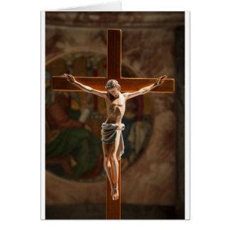 イエス・キリスト十字 グリーティングカード