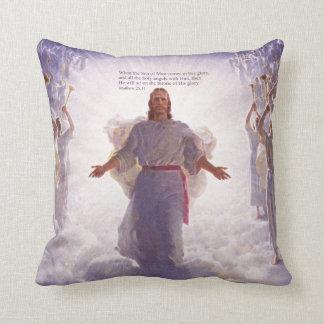 イエス・キリスト及び彼の天使1つの枕選択 クッション