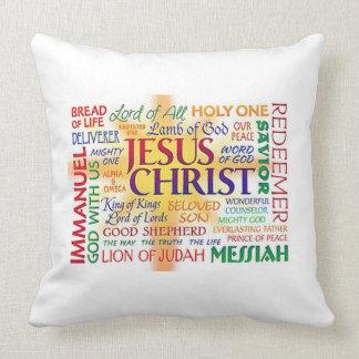 イエス・キリスト名前のとりわけ名前 クッション