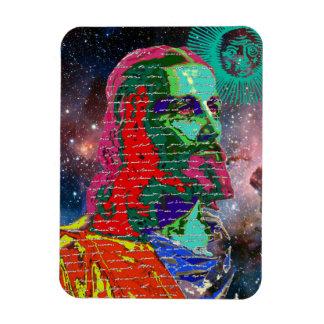 イエス・キリスト宇宙の銀河系の宇宙は日曜日を主演します マグネット
