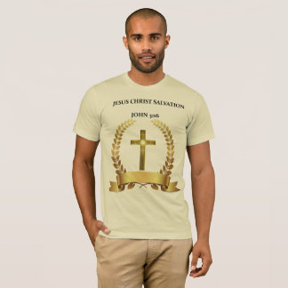 イエス・キリスト救助のジョンの3:16です Tシャツ