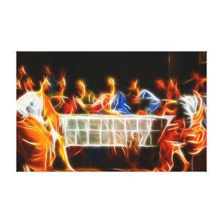 イエス・キリスト最後の晩餐 キャンバスプリント