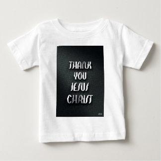 イエス・キリスト3ありがとう ベビーTシャツ