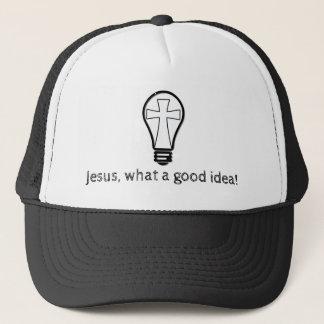 イエス・キリスト。 なんとよいアイディアか! キャップ