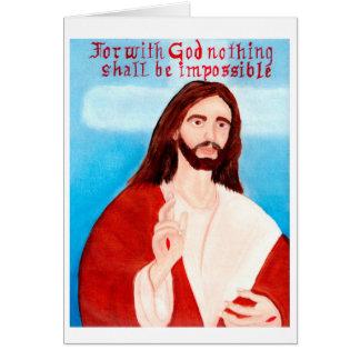 イエス・キリスト カード