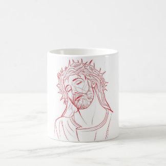 イエス・キリスト コーヒーマグカップ