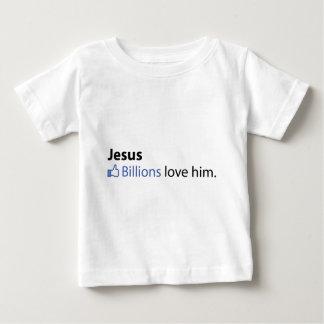イエス・キリスト ベビーTシャツ