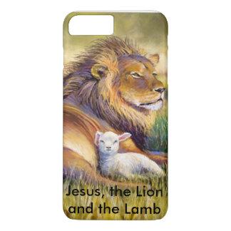 イエス・キリスト、ライオンおよび子ヒツジ iPhone 8 PLUS/7 PLUSケース