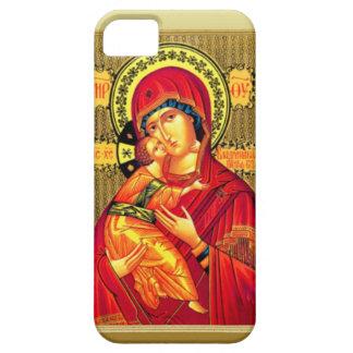 イエス・キリスト、身に着けている赤を持つメリー iPhone SE/5/5s ケース