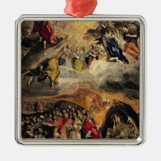 イエス・キリスト、c.1578の名前の崇敬 メタルオーナメント